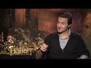 Richard Armitage (The Hobbit: The Desolation of Smaug) Interview Video Thumbnail