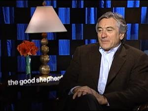 ROBERT DE NIRO (THE GOOD SHEPHERD) Interview Video Thumbnail