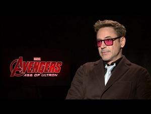 Robert Downey Jr. (Avengers: Age of Ultron) Interview Video Thumbnail