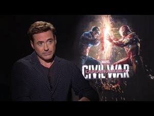 Robert Downey Jr. Interview - Captain America: Civil War Video Thumbnail
