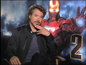 Robert Downey Jr. (Iron Man 2) Interview Video Thumbnail