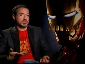 Robert Downey Jr. (Iron Man) Interview Video Thumbnail