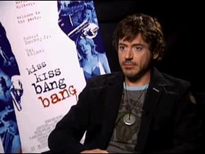 ROBERT DOWNEY, JR. (KISS KISS BANG BANG) Interview Video Thumbnail
