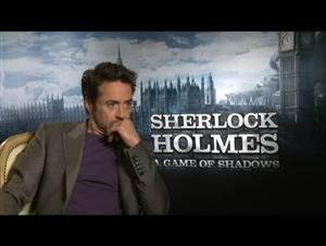Robert Downey Jr. (Sherlock Holmes: A Game of Shadows) Interview Video Thumbnail