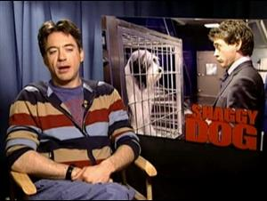 ROBERT DOWNEY, JR. (THE SHAGGY DOG) Interview Video Thumbnail