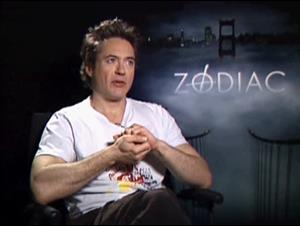 ROBERT DOWNEY, JR. (ZODIAC) Interview Video Thumbnail