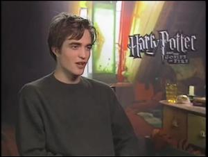 Robert Pattinson (Harry Potter and the Goblet of Fire) Interview Video Thumbnail