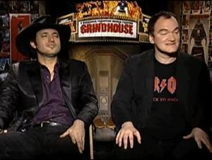 ROBERT RODRIGUEZ & QUENTIN TARANTINO (GRINDHOUSE) Interview Video Thumbnail