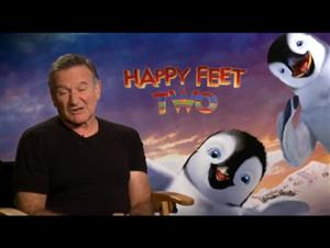 Robin Williams (Happy Feet Two) Interview Video Thumbnail
