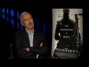 Roland Emmerich (Anonymous) Interview Video Thumbnail