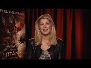 Rosamund Pike (Wrath of the Titans) Interview Video Thumbnail