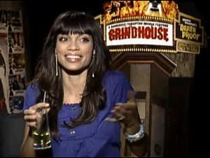 Rosario Dawson (Grindhouse) Interview Video Thumbnail
