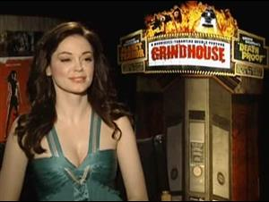 Rose McGowan (Grindhouse) Interview Video Thumbnail