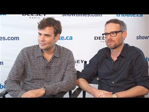 Rossif Sutherland & Jamie M. Dagg - River Interview Video Thumbnail