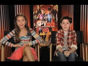 Rowan Blanchard & Mason Cook (Spy Kids: All the Time in the World) Interview Video Thumbnail