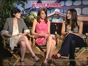 Rumer Willis, Emma Stone & Katharine McPhee (The House Bunny) Interview Video Thumbnail