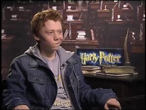 Rupert Grint (Harry Potter and the Chamber of Secrets) Interview Video Thumbnail