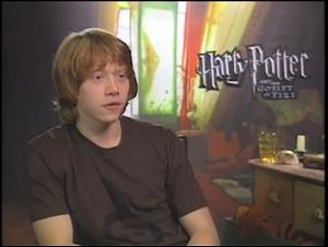 Rupert Grint (Harry Potter and the Goblet of Fire) Interview Video Thumbnail