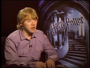 Rupert Grint (Harry Potter and the Half-Blood Prince) Interview Video Thumbnail