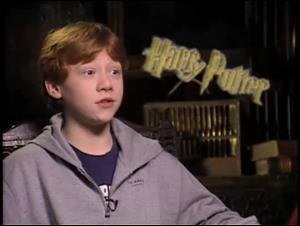 Rupert Grint (Harry Potter and the Philosopher's Stone) Interview Video Thumbnail