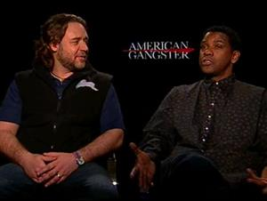 Russell Crowe & Denzel Washington (American Gangster) Interview Video Thumbnail