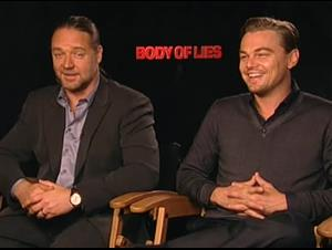 Russell Crowe & Leonardo DiCaprio (Body of Lies) Interview Video Thumbnail