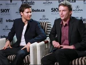 Ryan Kwanten & Leon Ford (Griff the Invisible) Interview Video Thumbnail