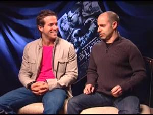 Ryan Reynolds & David S. Goyer (Blade: Trinity) Interview Video Thumbnail