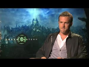 Ryan Reynolds (Green Lantern) Interview Video Thumbnail