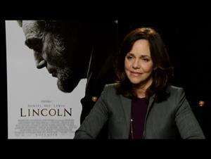 Sally Field (Lincoln) Interview Video Thumbnail
