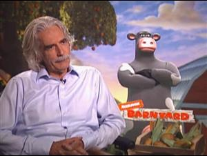 SAM ELLIOT (BARNYARD: THE ORIGINAL PARTY ANIMALS) Interview Video Thumbnail