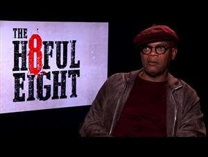 Samuel L. Jackson - The Hateful Eight Interview Video Thumbnail