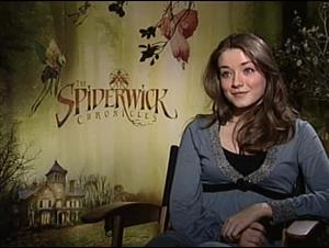 Sarah Bolger (The Spiderwick Chronicles) Interview Video Thumbnail