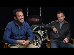 Scott Waugh & Aaron Paul (Need for Speed) Interview Video Thumbnail