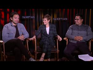 sebastian-stan-kate-mara-michael-pena-the-martian Video Thumbnail