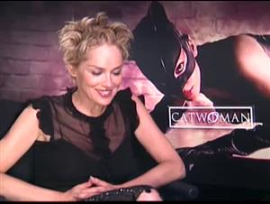 SHARON STONE - CATWOMAN Interview Video Thumbnail