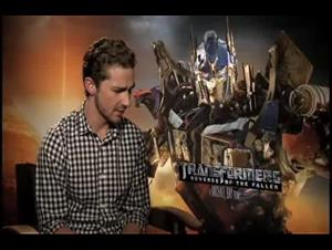 Shia LaBeouf (Transformers: Revenge of the Fallen) Interview Video Thumbnail