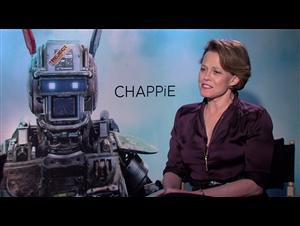 Sigourney Weaver (Chappie) Interview Video Thumbnail