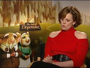Sigourney Weaver (The Tale of Despereaux) Interview Video Thumbnail