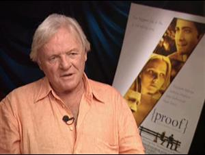 SIR ANTHONY HOPKINS - PROOF Interview Video Thumbnail