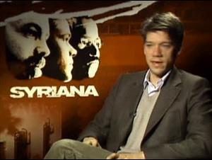 STEPHEN GAGHAN - SYRIANA Interview Video Thumbnail