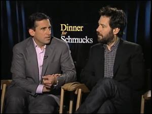 Steve Carell & Paul Rudd (Dinner for Schmucks) Interview Video Thumbnail