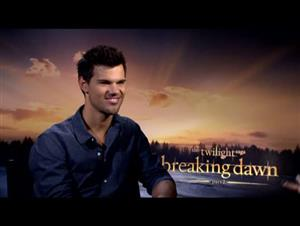 Taylor Lautner (The Twilight Saga: Breaking Dawn - Part 2) Interview Video Thumbnail