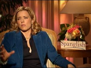 TÉA LEONI - SPANGLISH Interview Video Thumbnail