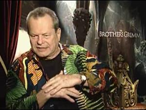 TERRY GILLIAM - THE BROTHERS GRIMM Interview Video Thumbnail
