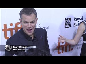 The Martian - Red Carpet at TIFF 2015 Video Thumbnail