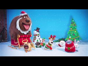 The Secret Life of Pets Holiday Trailer Video Thumbnail