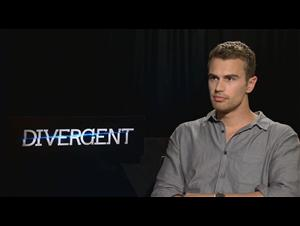 Theo James (Divergent) Interview Video Thumbnail