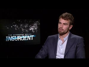 Theo James (The Divergent Series: Insurgent) Interview Video Thumbnail
