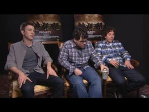 Thomas Mann, Jonathan Daniel Brown & Oliver Cooper (Project X) Interview Video Thumbnail